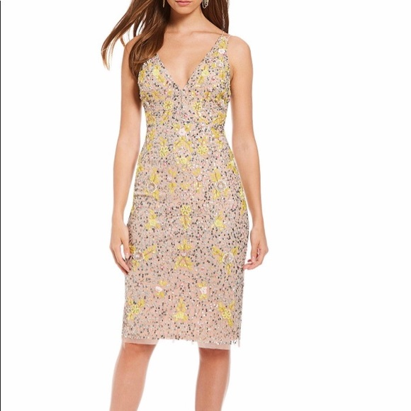 8cca0e36327 Gianni Bini Madi Sequin Floral Party Dress